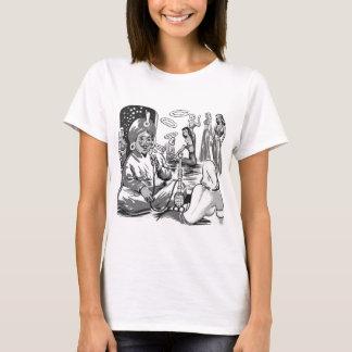Camiseta Harem de Bagdade do cachimbo de água do tabaco do