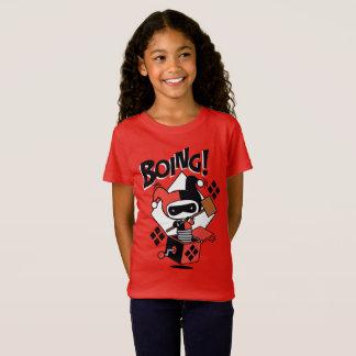 Camiseta Harley-Quinn-Em-UM-Box de Chibi com martelo