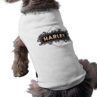 Camiseta Harley - t-shirt do cão de estimação - design