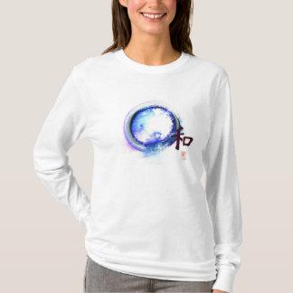 Camiseta Harmonia - apenas fora do alcance, zen Enso