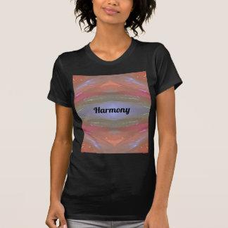 Camiseta Harmonia artística do pêssego da pervinca