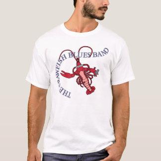 Camiseta Harmônica da banda de azuis dos lagostins