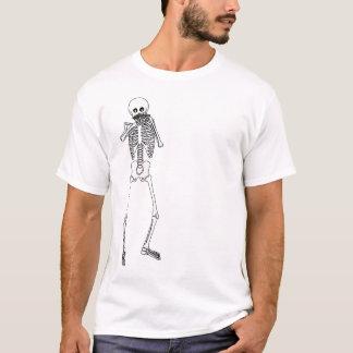 Camiseta Harmônica que joga o esqueleto