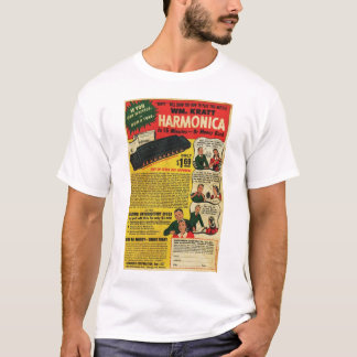 Camiseta Harmônicas de WM Kratt