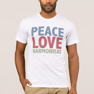 Camiseta Harmônicas do amor da paz