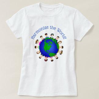 Camiseta Harmonize o mundo