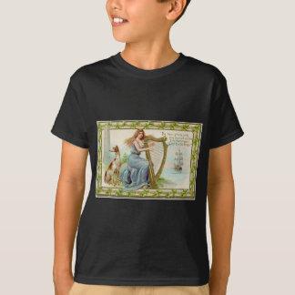 Camiseta Harpa & senhora originais do dia de patrick de