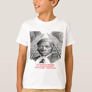 """Camiseta Harriet Tubman & da """"senhor constante"""" citações"""