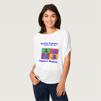 Camiseta Harriet Tubman inspira-me apoiar mulheres