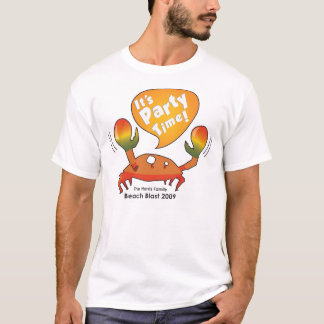 Camiseta Harris encalha o caranguejo do tempo do partido da