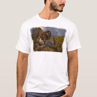 Camiseta Harris Hawk e Jackrabbit - acrílico