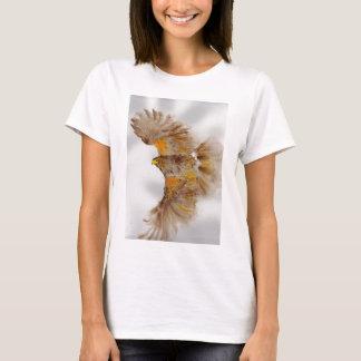 Camiseta Harris Hawk, pássaro de rapina