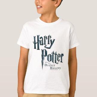 Camiseta Harry Potter e o Deathly Hallows o logotipo 1