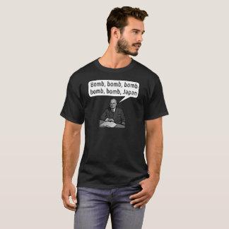 Camiseta Harry Truman canta a bomba Japão - o t-shirt dos