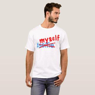 Camiseta Hashtag eu mesmo