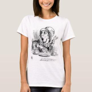 Camiseta Hatter louco de Alice no país das maravilhas