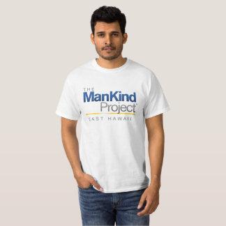 Camiseta Havaí do leste - a humanidade projeta o logotipo