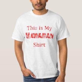Camiseta Havaí engraçado isto é meu Hawaiian