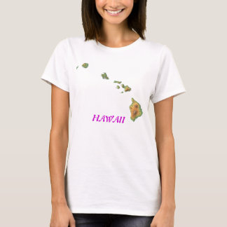 Camiseta Havaí-mapa, HAVAÍ