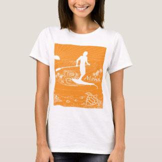 Camiseta Havaí que surfa 230