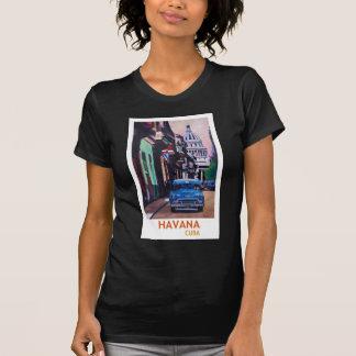 Camiseta Havana em Cuba - EL Capitolo com oldtimer