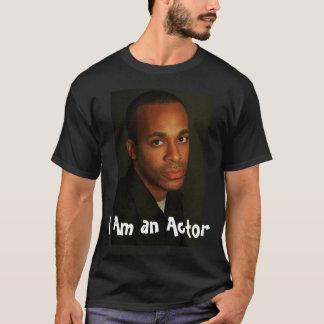Camiseta headshot, eu sou um ator