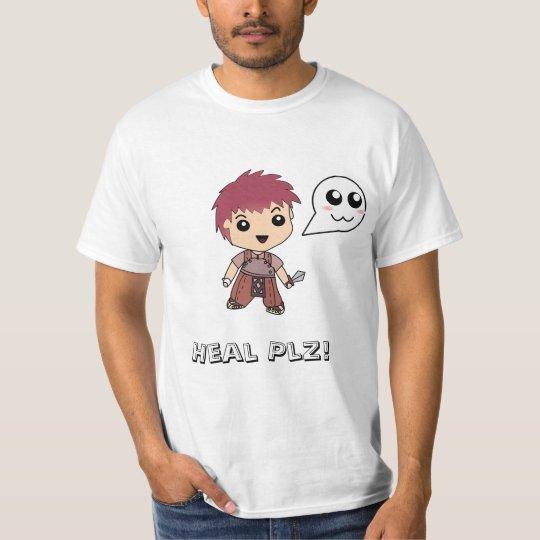 Camiseta Heal Plz! Aprendiz