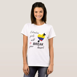 Camiseta Heartbreaker colombiano