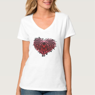 Camiseta Heartz áspero