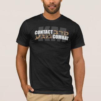 Camiseta Hebraico Camo de Krav Maga