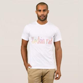 Camiseta HECKIN inglês RAD na aguarela