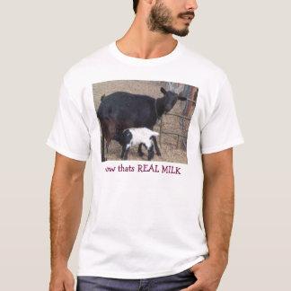 Camiseta Heidi & Sue encaracolado, agora que é o LEITE REAL