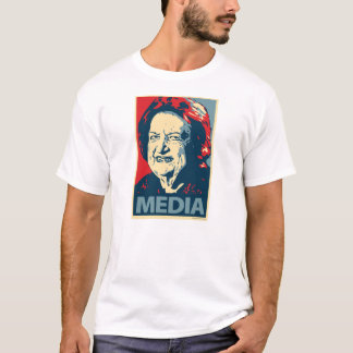 Camiseta Helen Thomas - meios: T-shirt de OHP