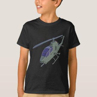 Camiseta Helicóptero de Apache na vista dianteira