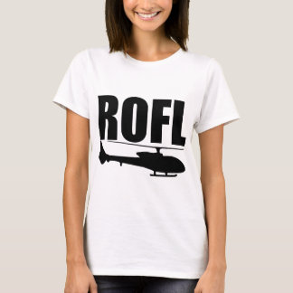 Camiseta Helicóptero de ROFL
