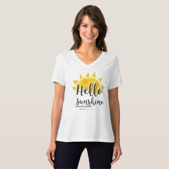 Camiseta Hello Sunshine
