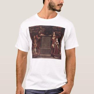 Camiseta Henry VII, Elizabeth de York, Henry VIII e Jane