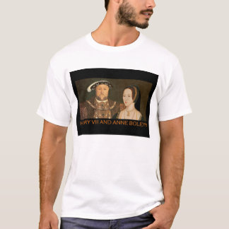 Camiseta Henry VIII e Anne Boleyn