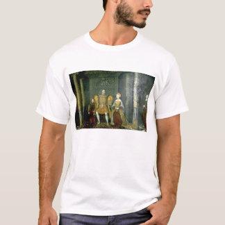 Camiseta Henry VIII e família