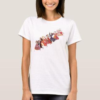 Camiseta Henry VIII e seu t-shirt dos desenhos animados de