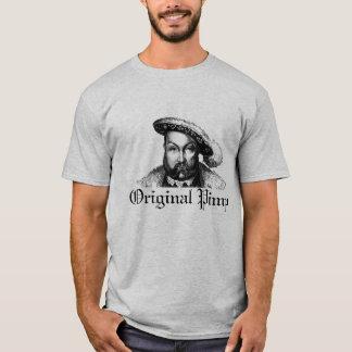 Camiseta Henry VIII: Proxeneta original (cinza)