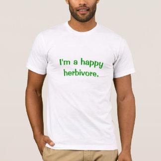 Camiseta Herbívoro feliz