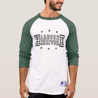 Camiseta Herbívoro incondicional (preto)