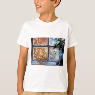 Camiseta Hermes o maltês