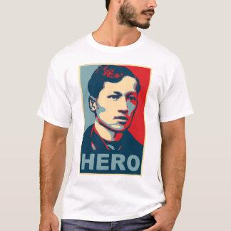 Camiseta Herói de Jose Rizal