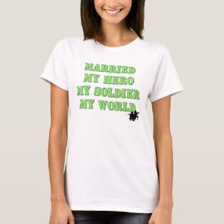 Camiseta Herói militar
