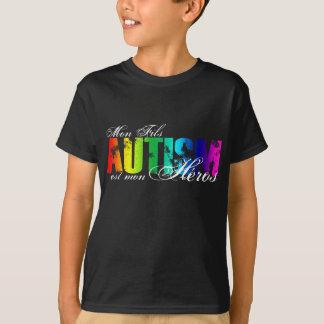 Camiseta Heróis de segunda-feira Fils - autismo