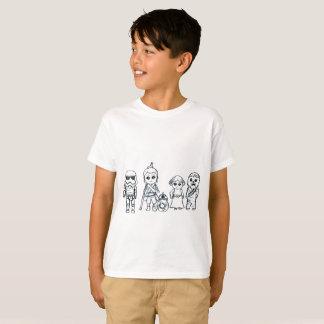 Camiseta Heróis super diminutos da galáxia