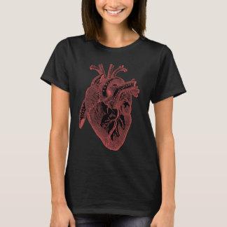 Camiseta Hetero dos presentes do coração para nerd médicos