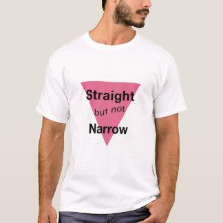 Camiseta Hetero mas não estreito